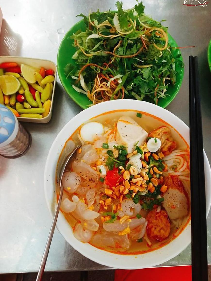 Bún sứa Ninh Thuận