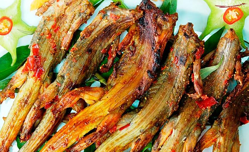 Thịt dông cát Ninh Thuận