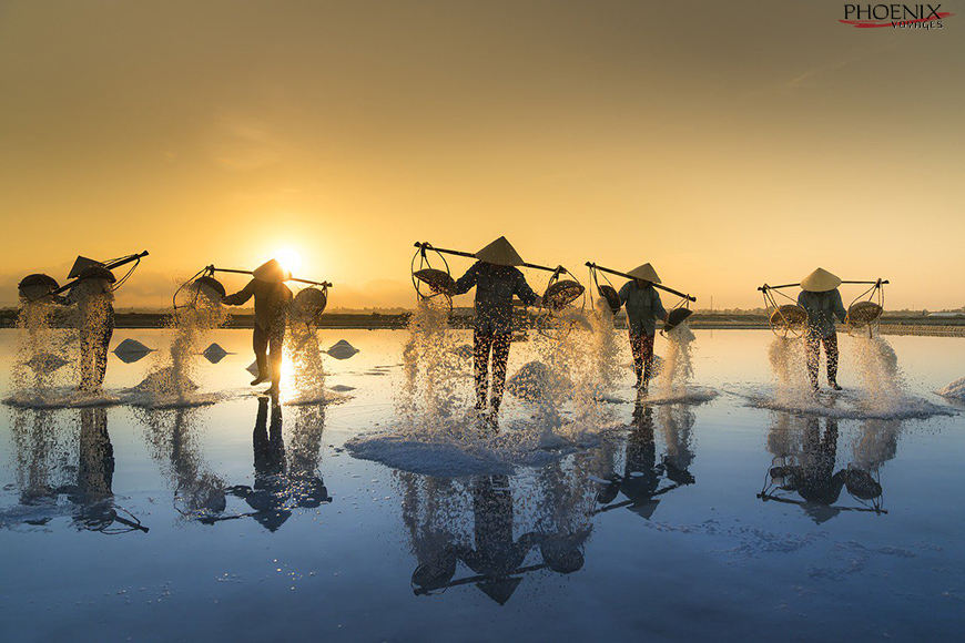 Cánh đồng muối Cà Ná Ninh Thuận